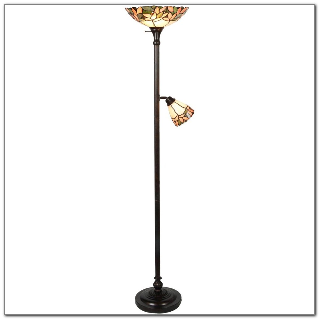 Dale Tiffany Torchiere Floor Lamps