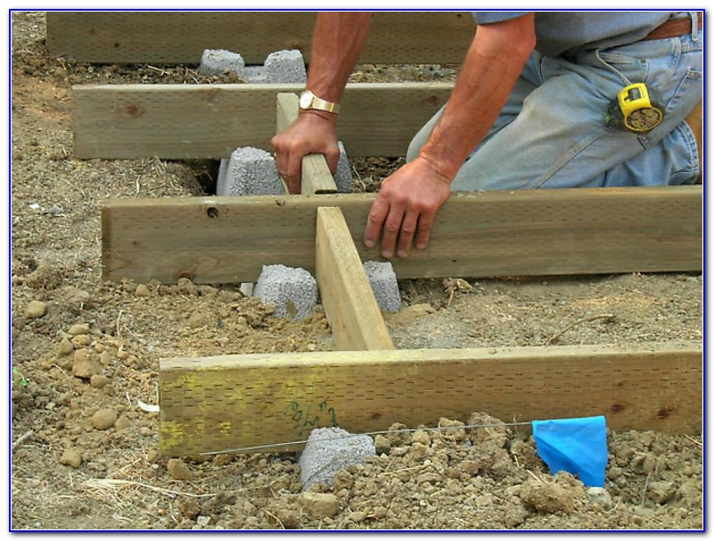 Deck Blocks Vs Concrete Footings