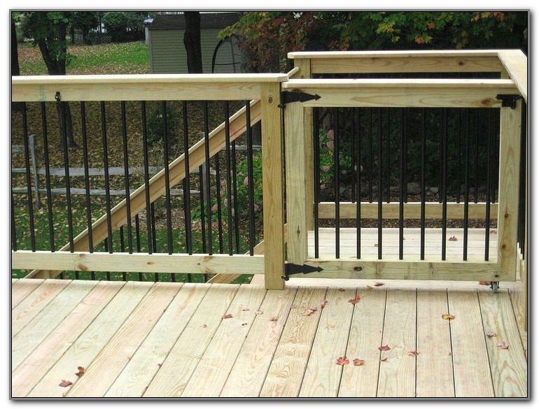 Deck Gates For Pets