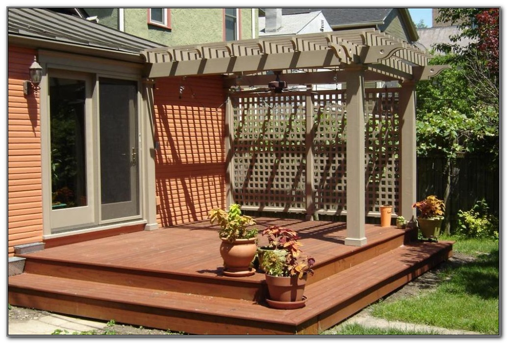 Deck Ideas For Backyard