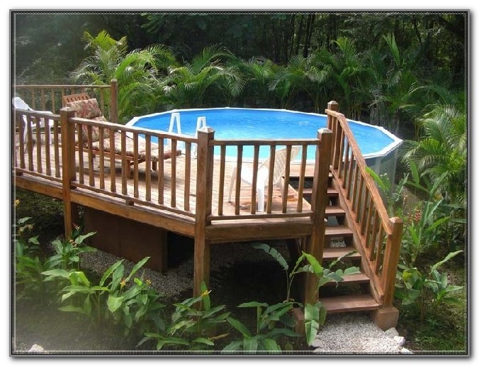 Deck Kits For Above Ground Pools