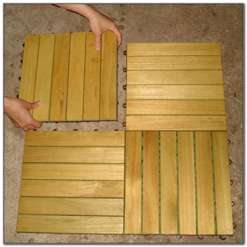 Deck Non Pressure Treated Wood