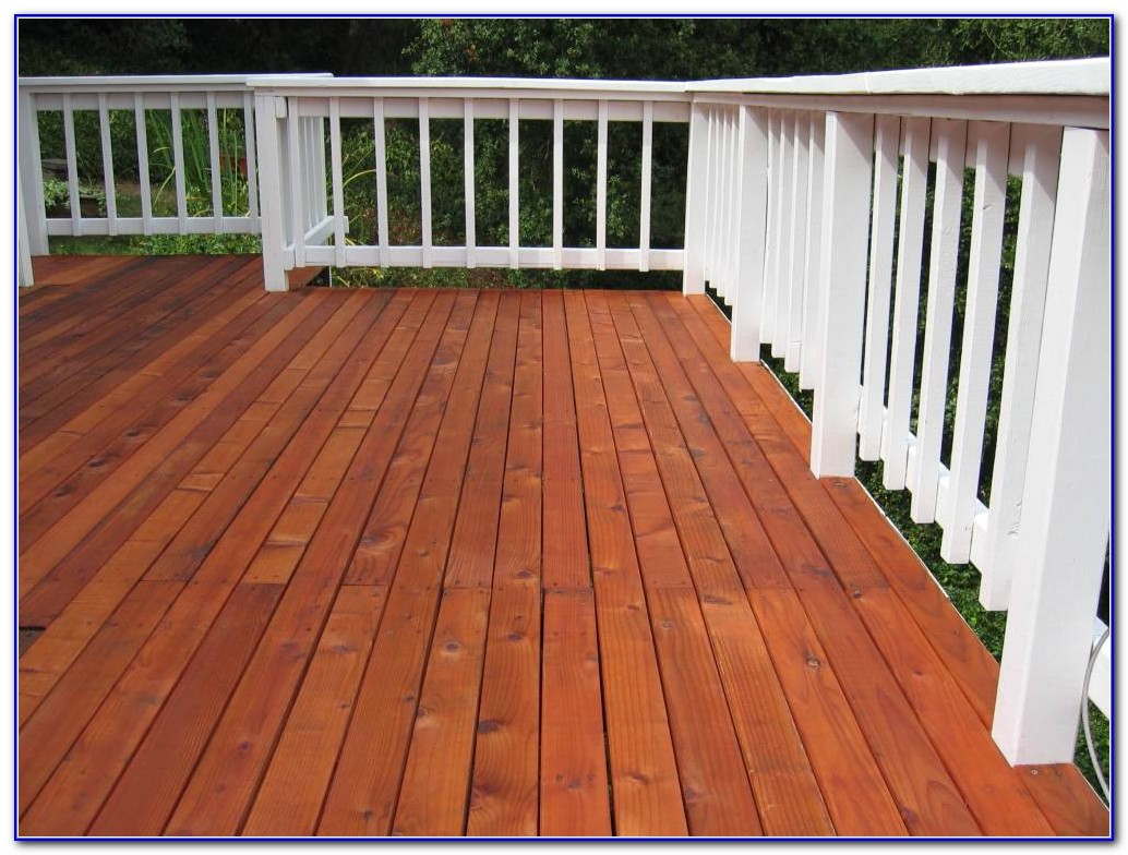 Deck Paint Or Stain