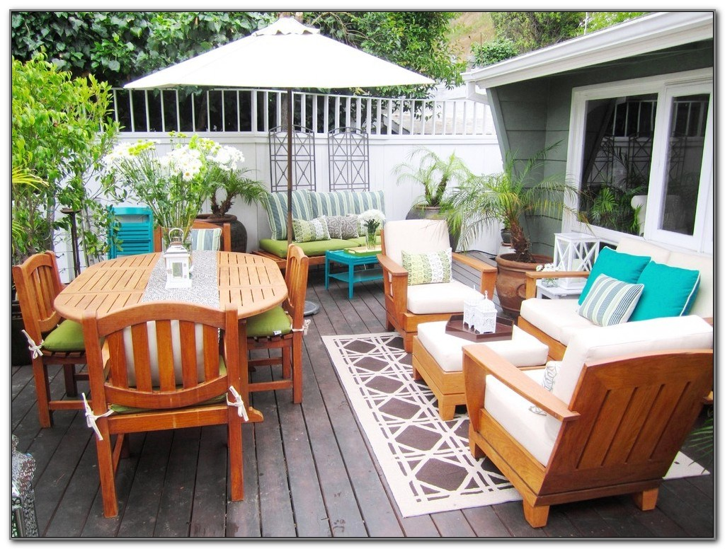 Deck Patio Furniture Ideas