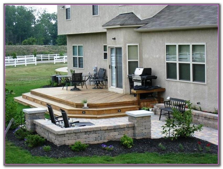 Deck Patio Ideas Pictures
