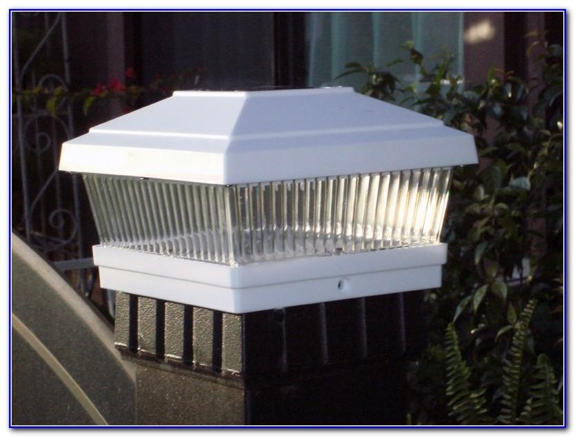 Deck Post Solar Lights