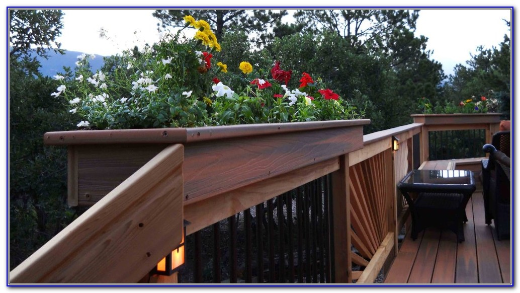 Deck Rail Brackets For Planters