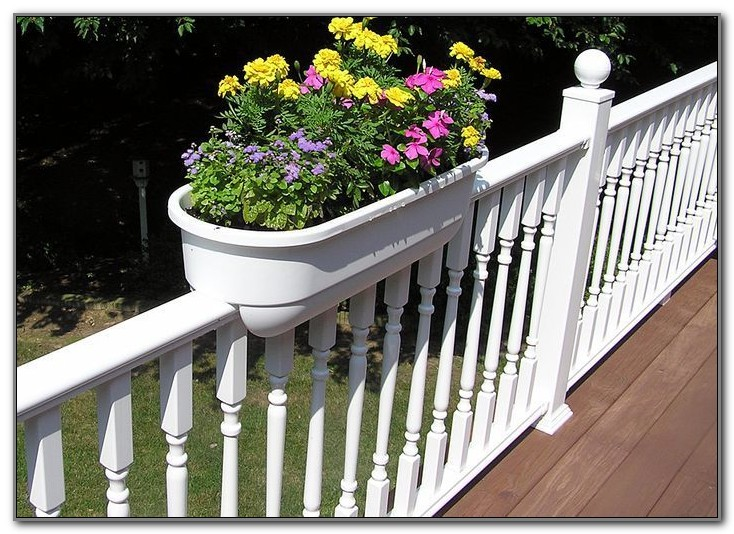 Deck Rail Planter Box Ideas