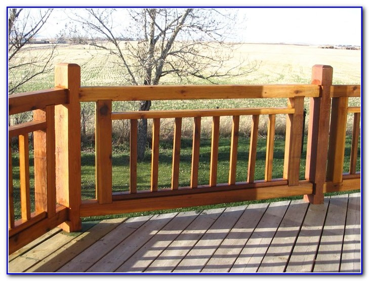 Deck Railing Home Depot