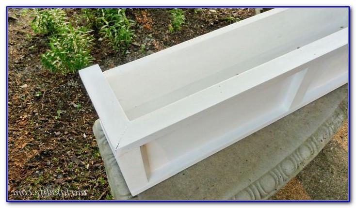 Deck Railing Planter Boxes Diy
