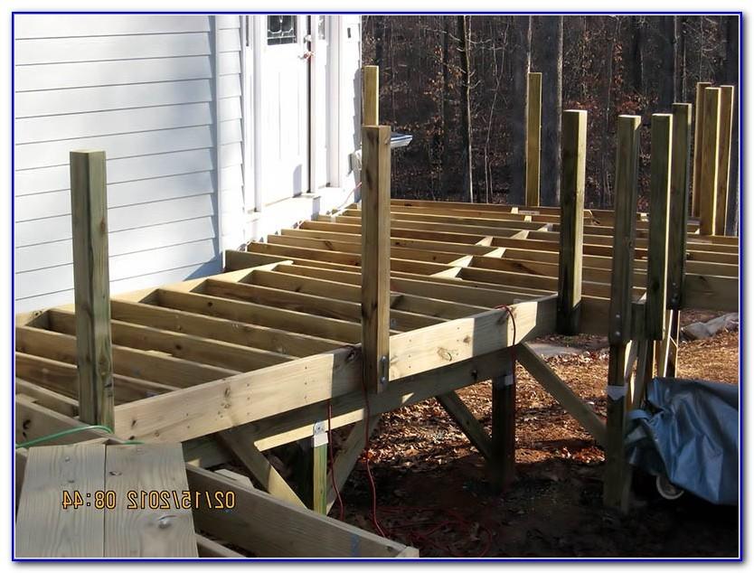 Deck Railing Post Spacing