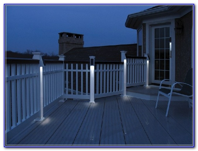 Deck Solar Lights Post Caps 6x6