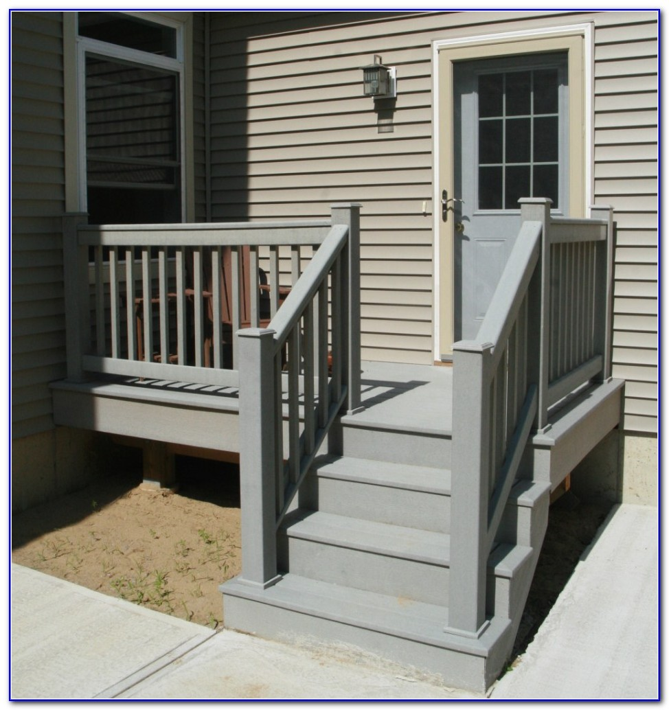 Deck Stair Railing Designs