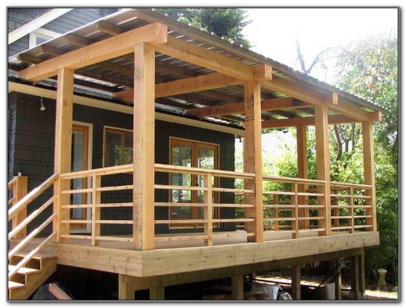 Deck Step Railing Ideas