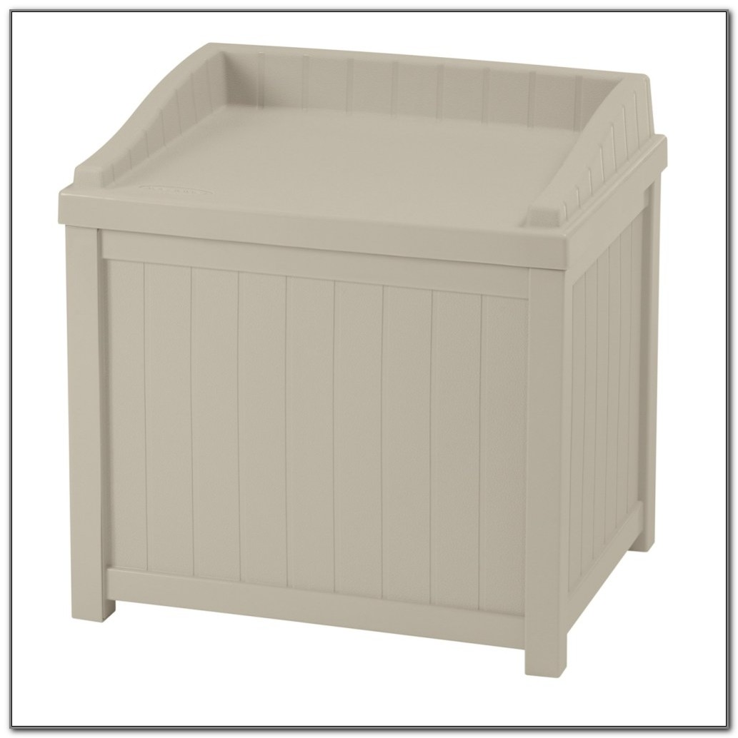 Deck Storage Box With Seat
