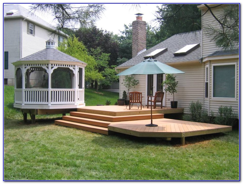Decks And Patios Designs