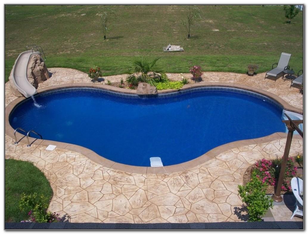 Decorative Concrete Pool Deck Ideas