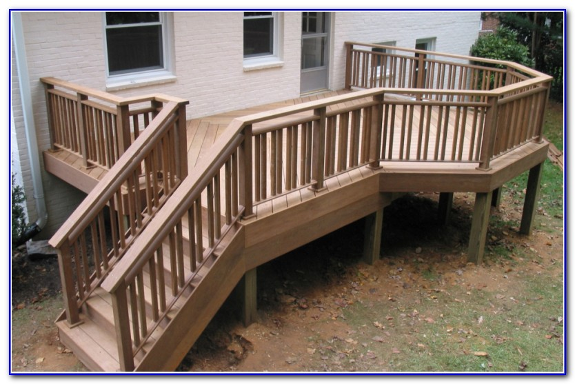 Diy Deck Railing Plans