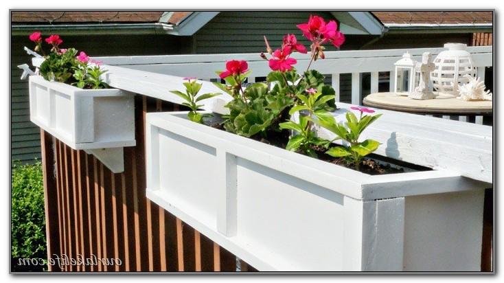 Diy Flower Boxes For Decks