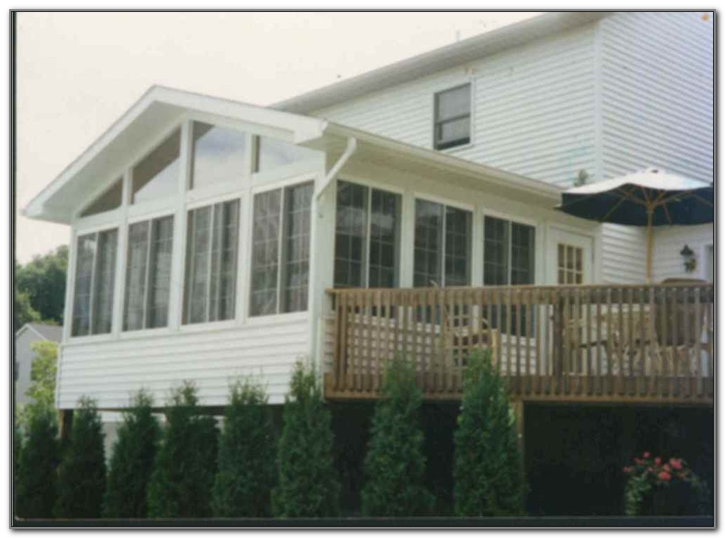 Do It Yourself Sunroom Enclosures