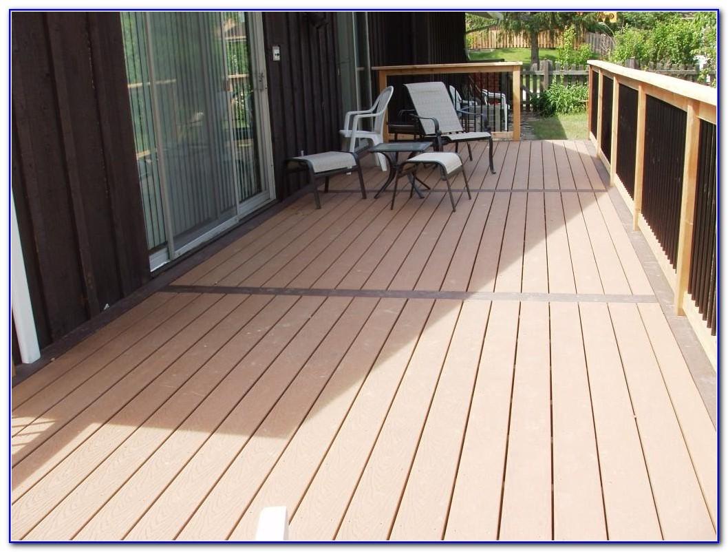 Fake Wood Deck Material