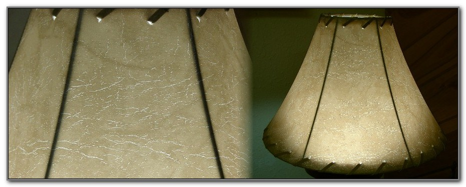 Faux Leather Lamp Shades