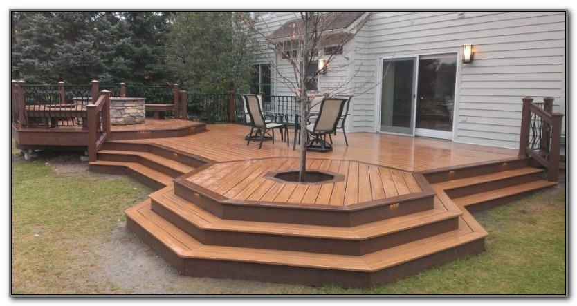Fire Pit For Wood Deck