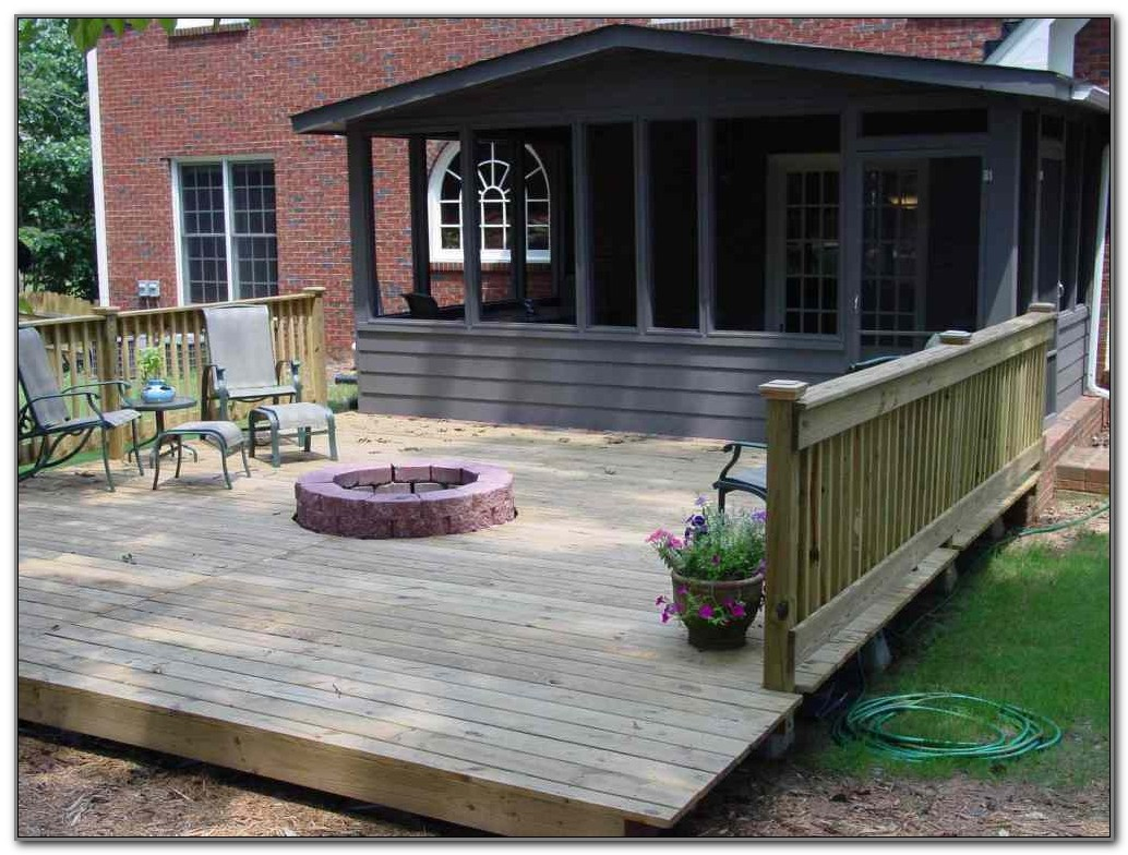Fire Pit Ideas For Deck