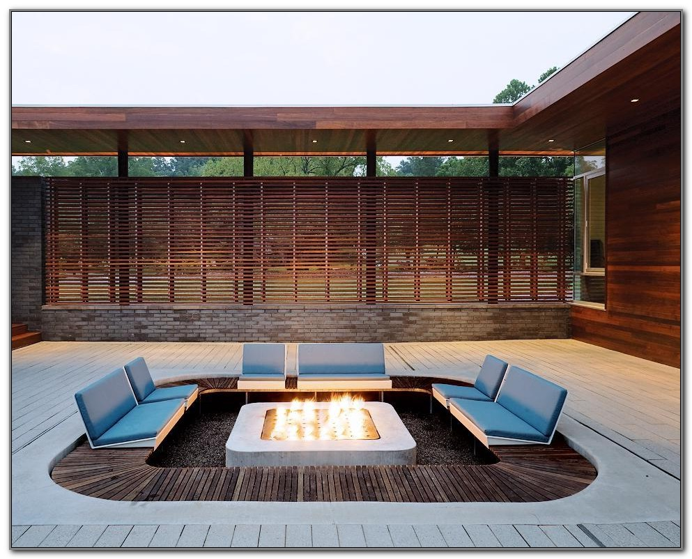 Fire Pits For Wood Decks