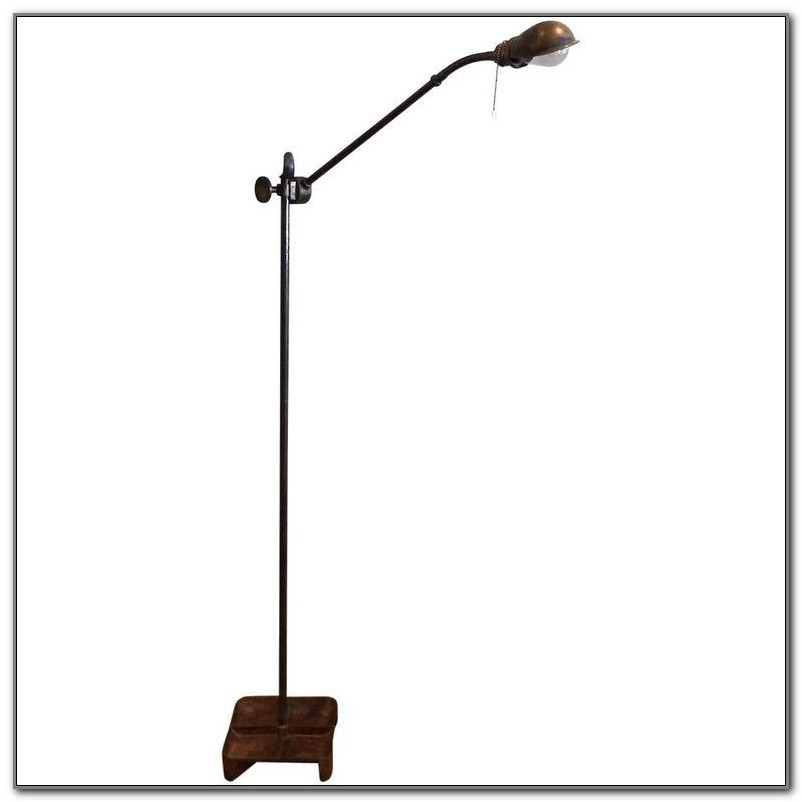 Floor Lamp Base With Tray