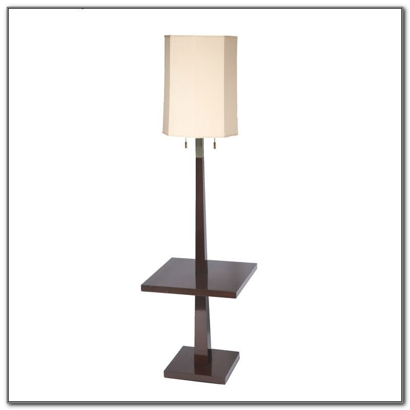 Floor Lamps With Tables Attached