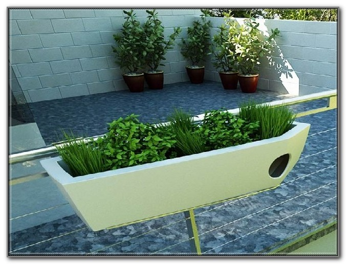 Flower Boxes For Deck Railing