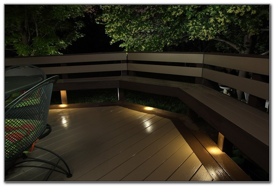 Flush Mount Solar Led Deck Lights