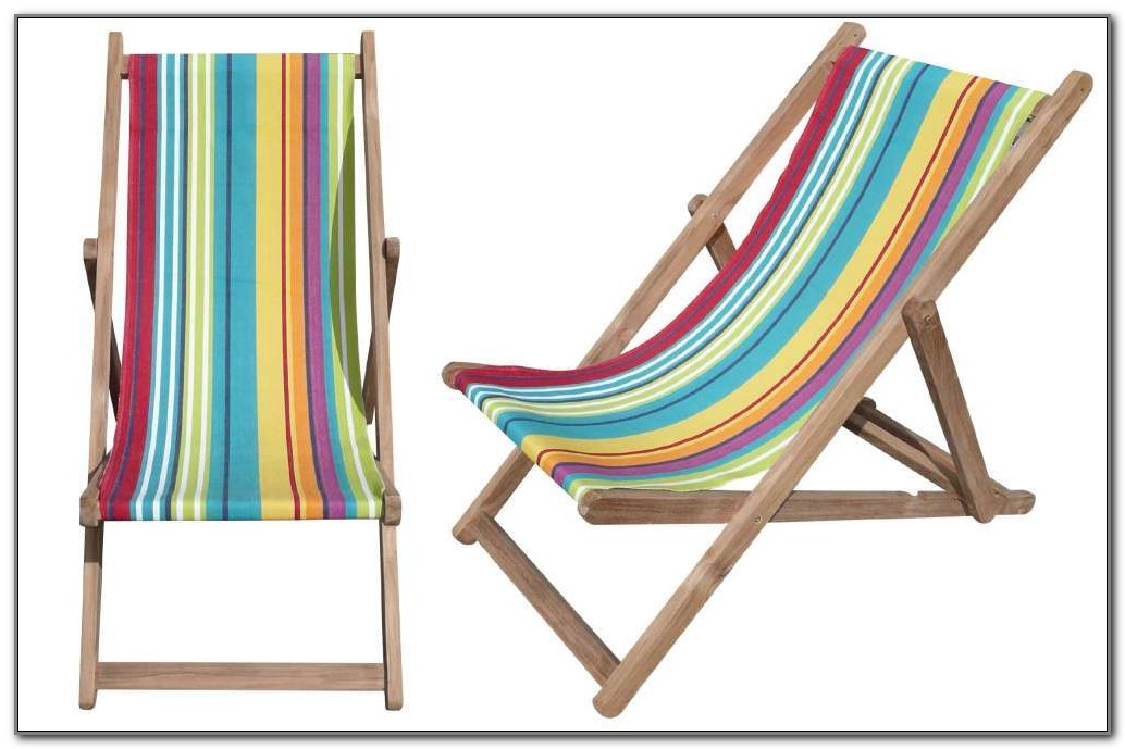 Folding Wooden Deck Chairs