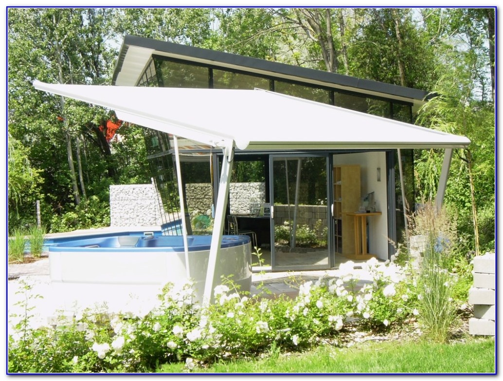 Free Standing Awning For Deck