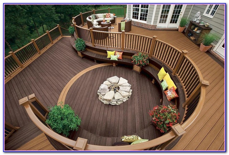 Gas Fire Pits For Decks