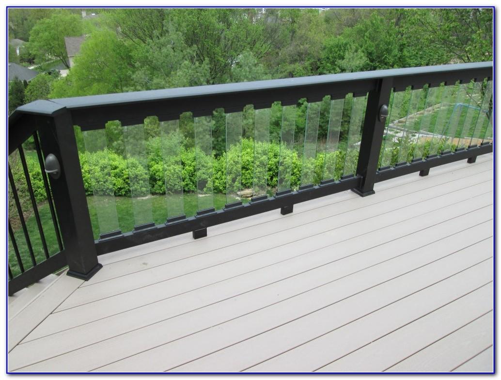 Glass Deck Railing Designs