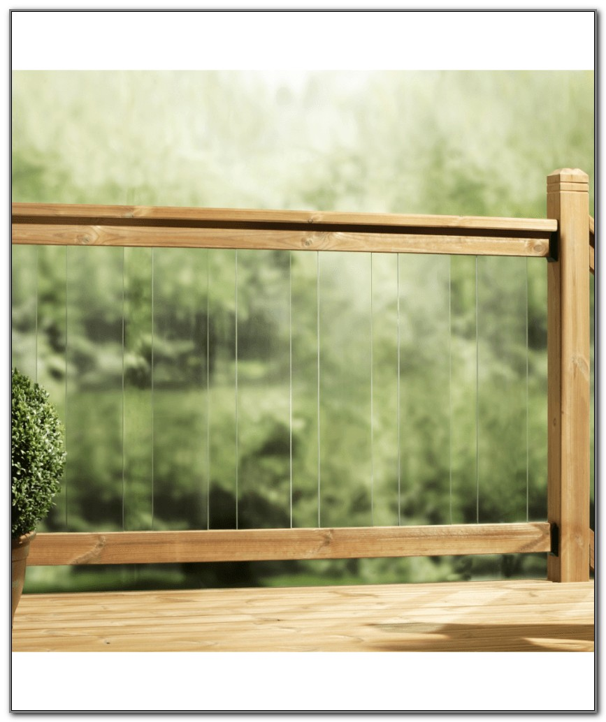 Glass Panels For Decking
