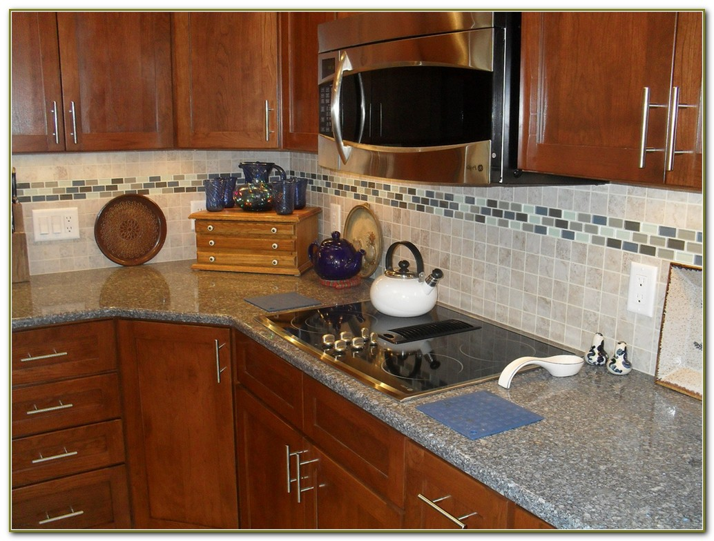 Glass Tile Borders For Backsplash