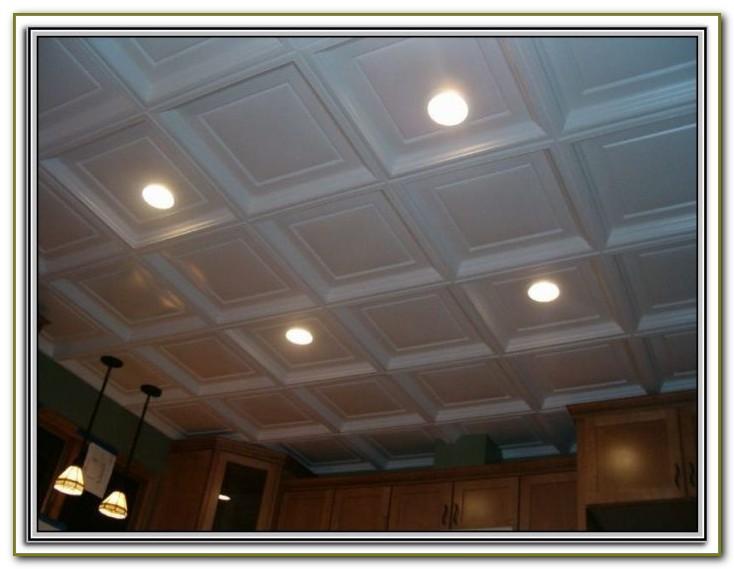 Glue On Ceiling Tiles Home Depot