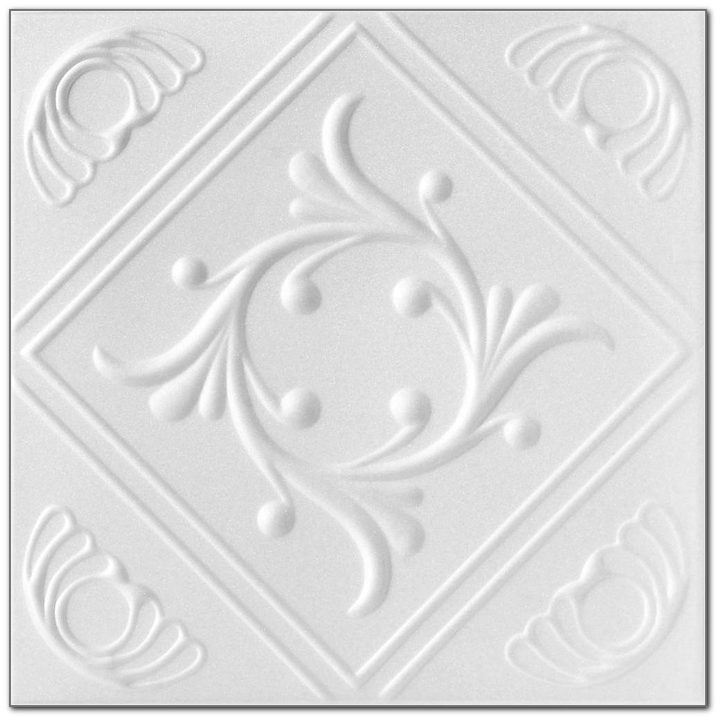 Glue Up Ceiling Tiles Home Depot
