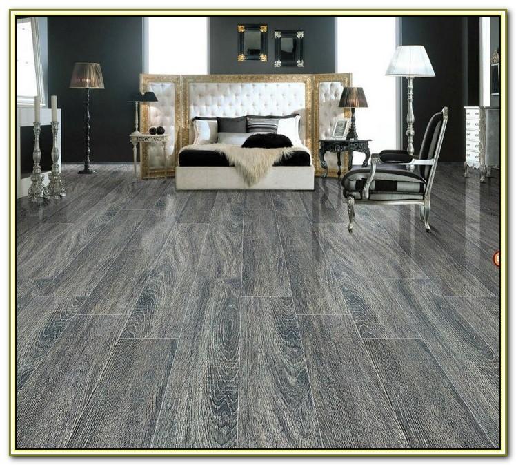Gray Wood Grain Porcelain Tile