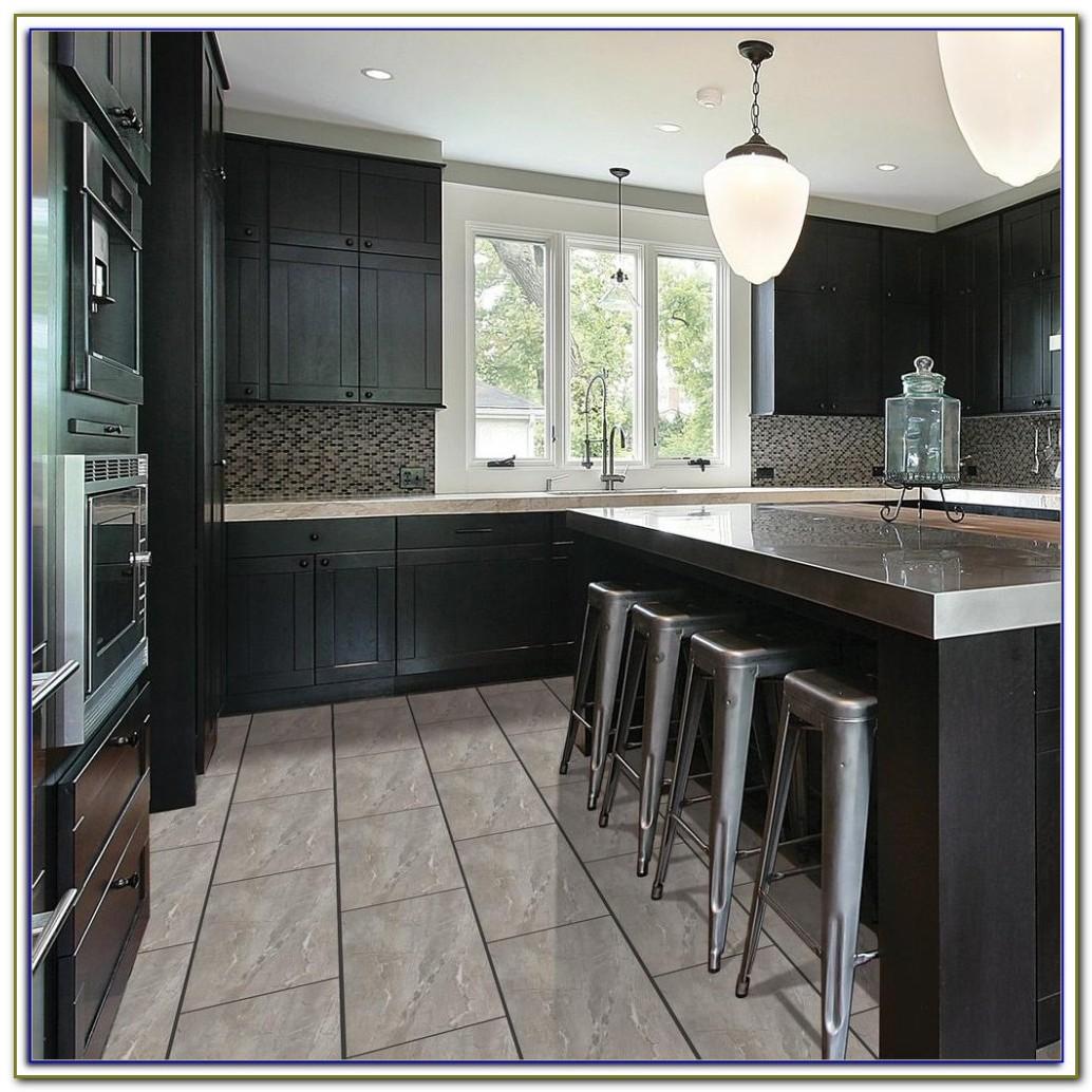 Grey Gloss Porcelain Floor Tiles