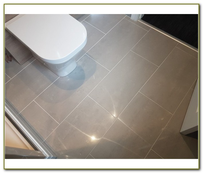 Grey Polished Porcelain Floor Tiles