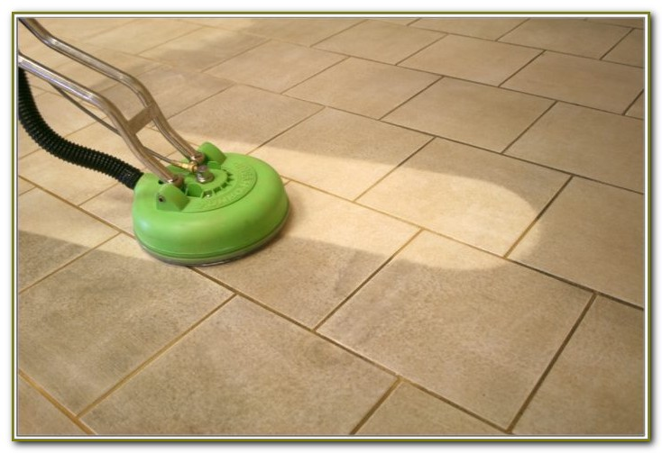 Grout And Tile Sealer Application