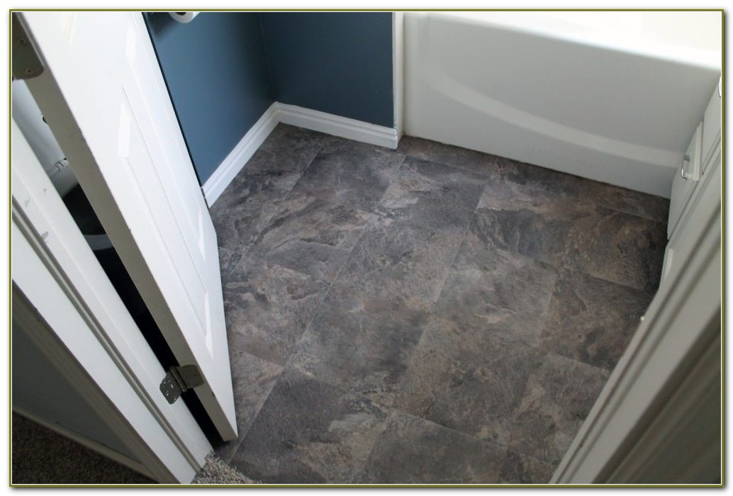 Groutable Peel And Stick Floor Tile