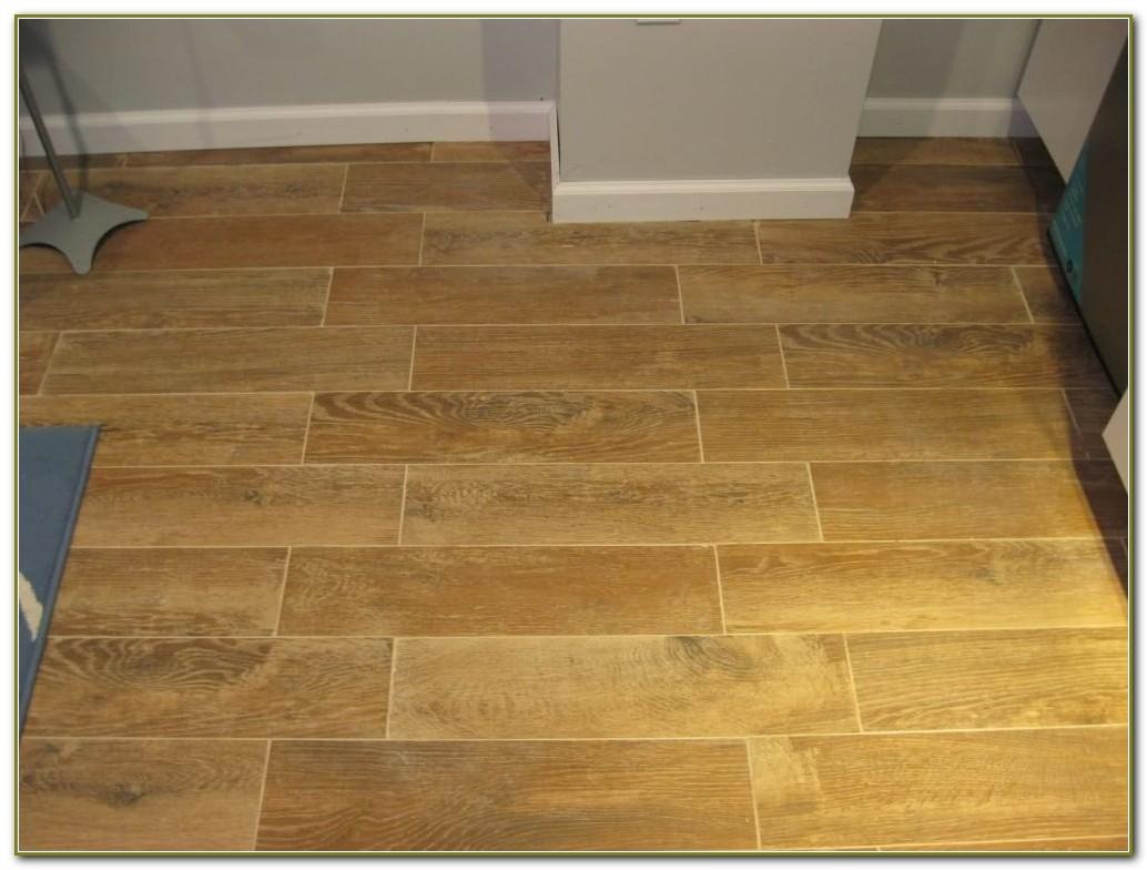 Hand Scraped Wood Look Tile