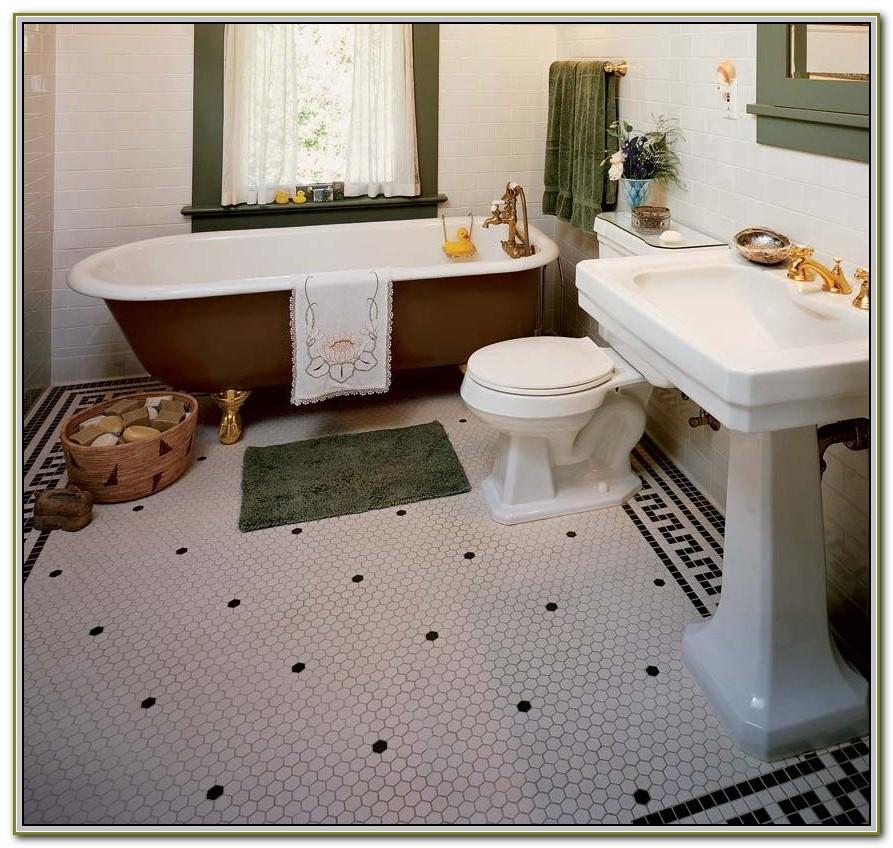 Hexagon Bathroom Floor Tiles