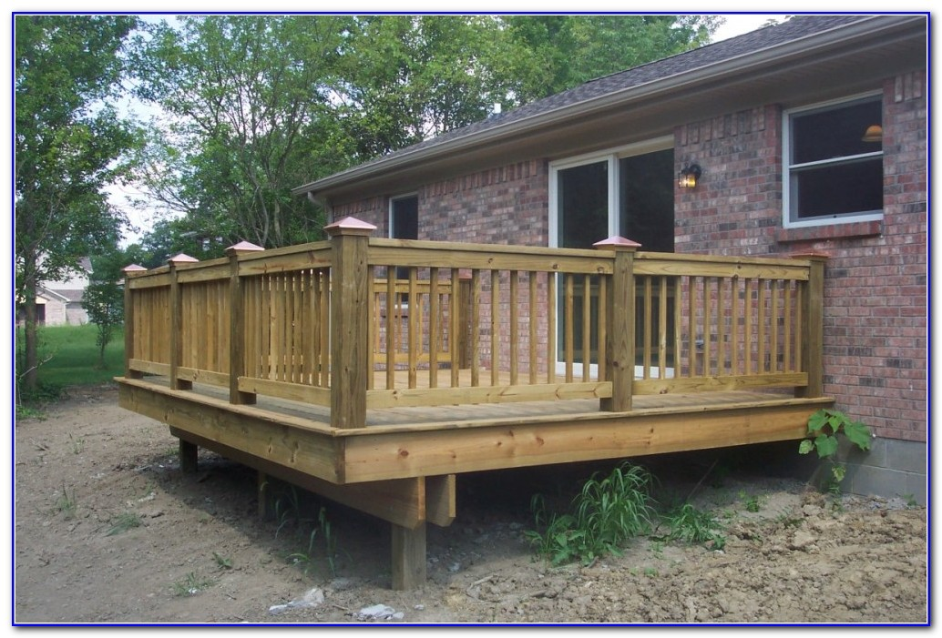 Horizontal Deck Railing Ideas