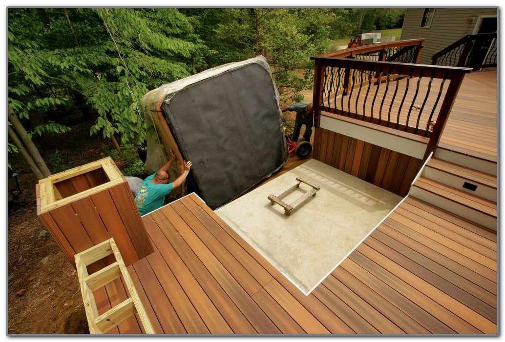 Hot Tub Deck Design